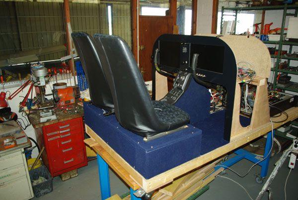 Depuis plusieurs mois, des membres de l'aéro-club du Havre Jean Maridor ont entrepris la construction d'un simulateur de vol.