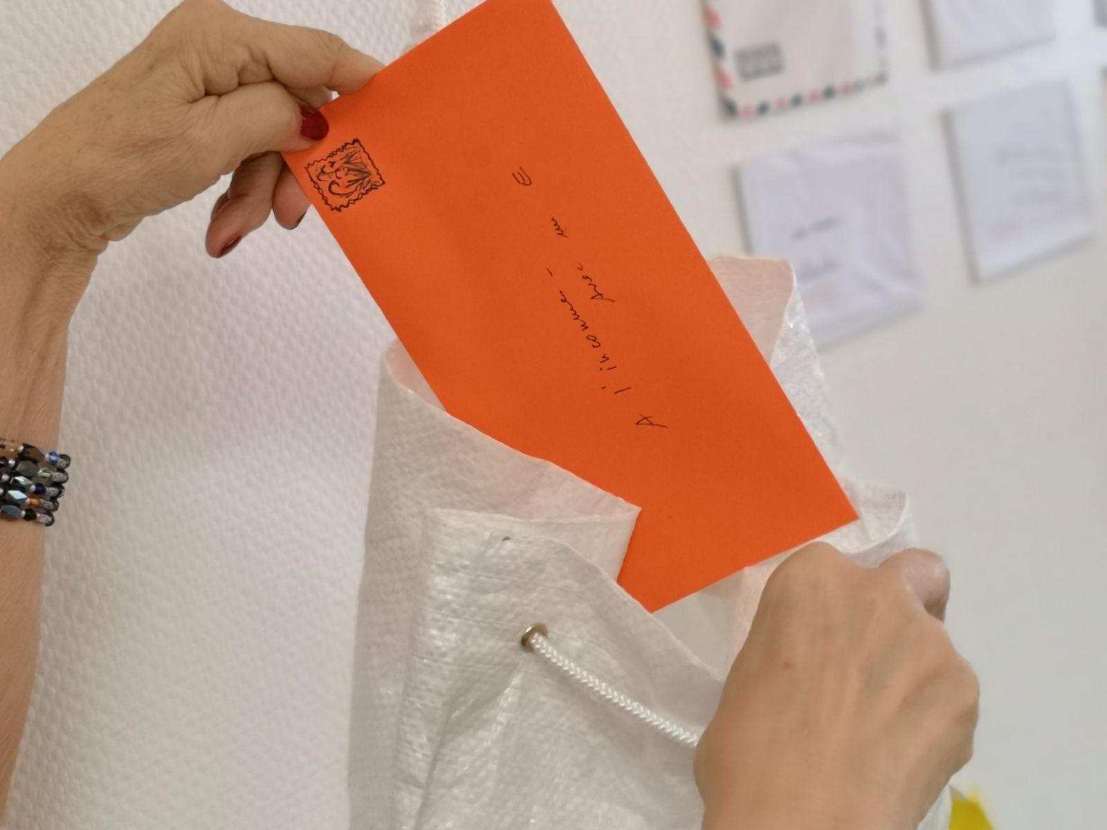 ...des ateliers d'écritures, des échanges de lettres entre inconnus