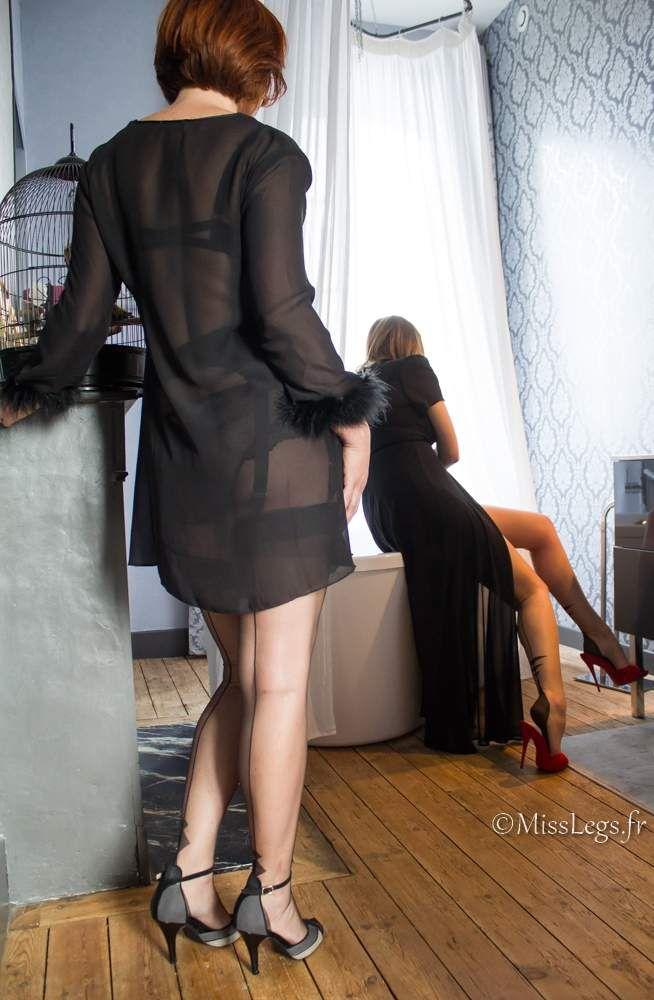 Isabelle Cervain (basdesoie.over-blog.com) - MissLegs - Bas nylon FF