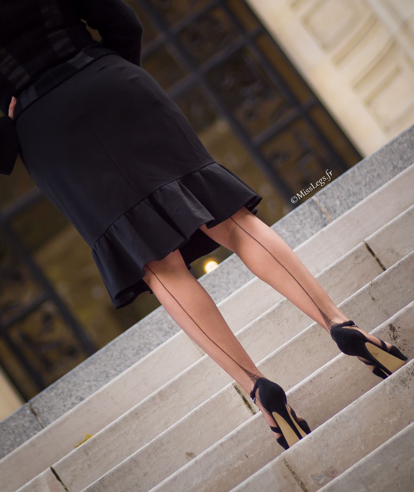 http://www.misslegs.fr/ - Vintage nylon - shoes Kurt Geiger - Dress Surpouss