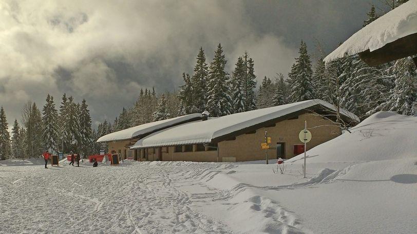 Le centre école de ski de fond du Revard qui fut un de ses combats.