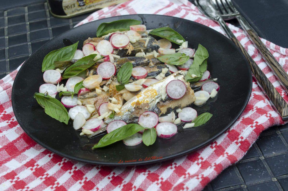 Sardines en boite, une recette selon Jean Pierre Vigato