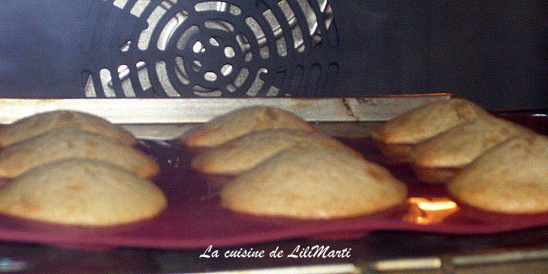 Madeleines sarrasin (sans gluten)