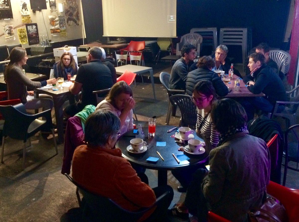 Café citoyen  - Comment s'organiser pour mettre en place une transition écologique ici et maintenant ?