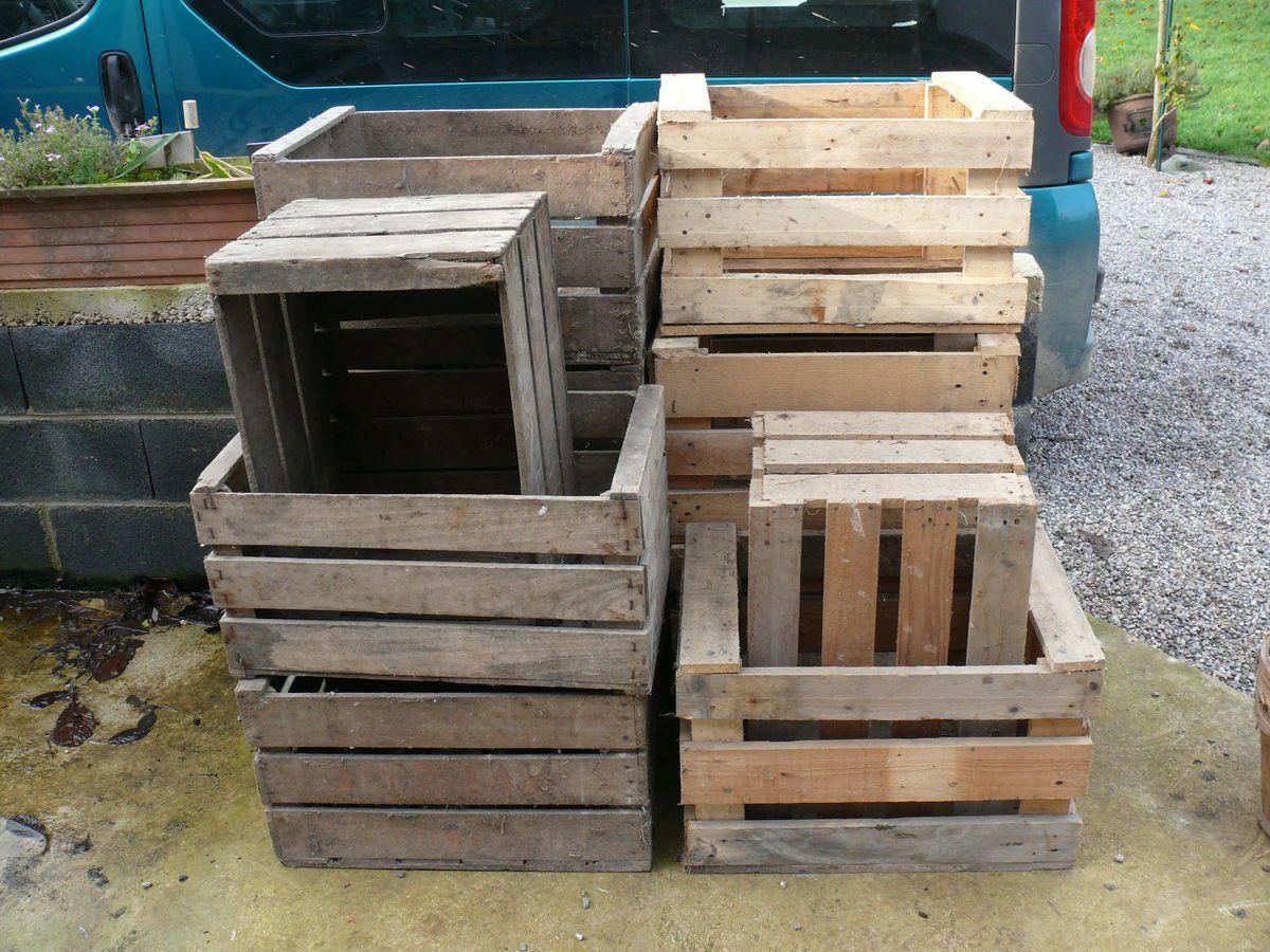 Prix Caisse A Pomme divers caisses , casiers et panier - le bric à broc de cedric