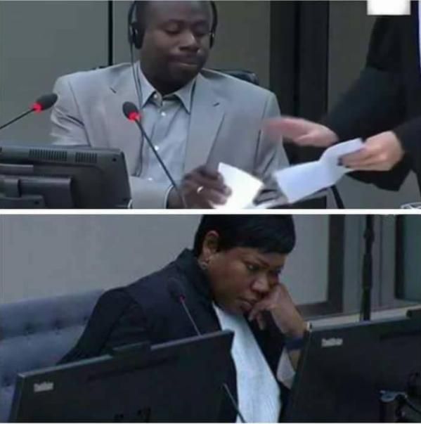 #CIV- PROCES DE GBAGBO A LA #CPI: UN TEMOIN A CHARGE PRIS EN FLAGRANT DÉLIT DE TRICHERIE.