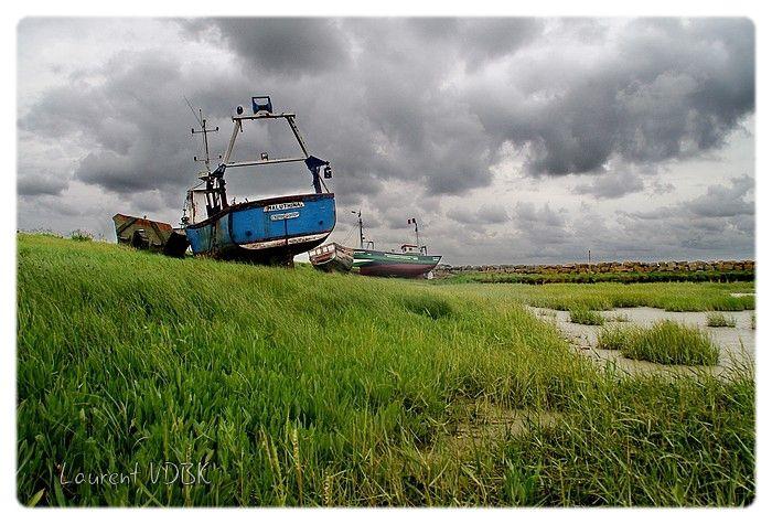 Le Crotoy en Picardie : Le cimetière marin