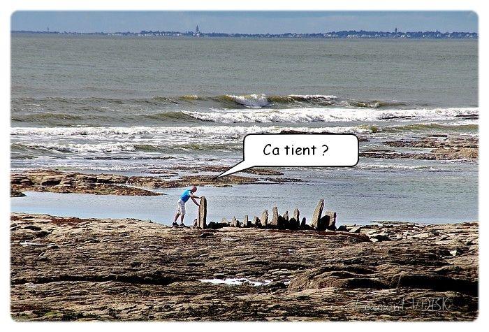 Ancien piège a poisson, Pointe St Gildas