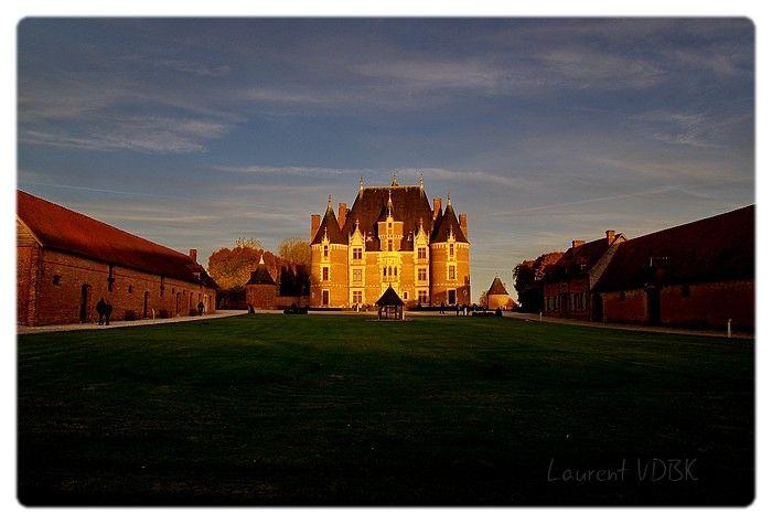 Château de Martainville au coucher du soleil