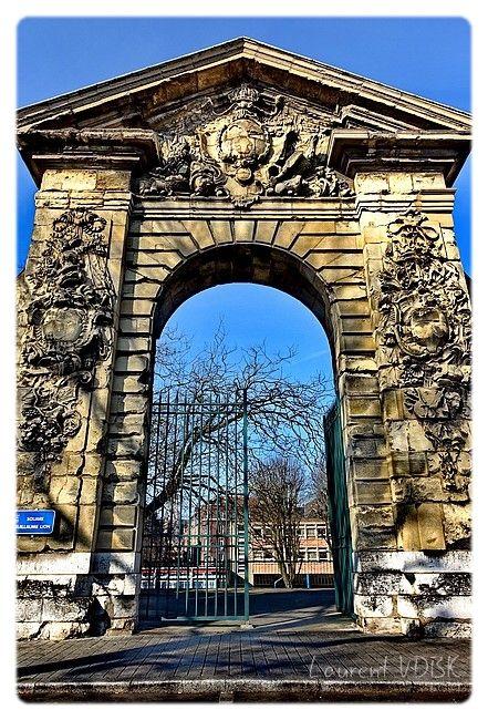 Rouen : La porte Guillaume-Lion