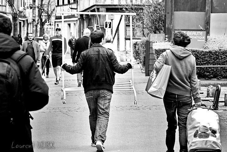 Photo de rue à Rouen
