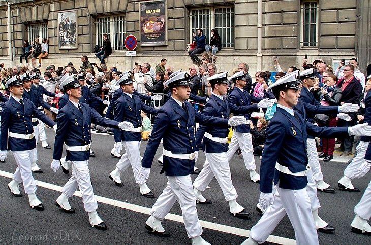 Défilé des marins - Armada 2019 Rouen