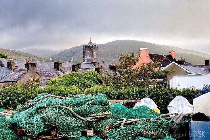 Le port et l'église de Dingle - Comté du Kerry - Irlande