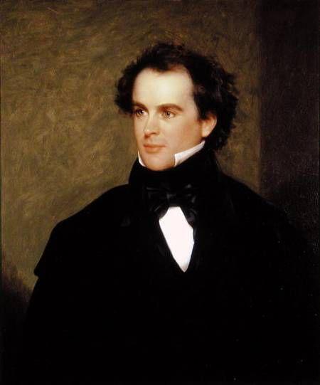 Portrait de Nathaniel Hawthorne par Charles Osgood