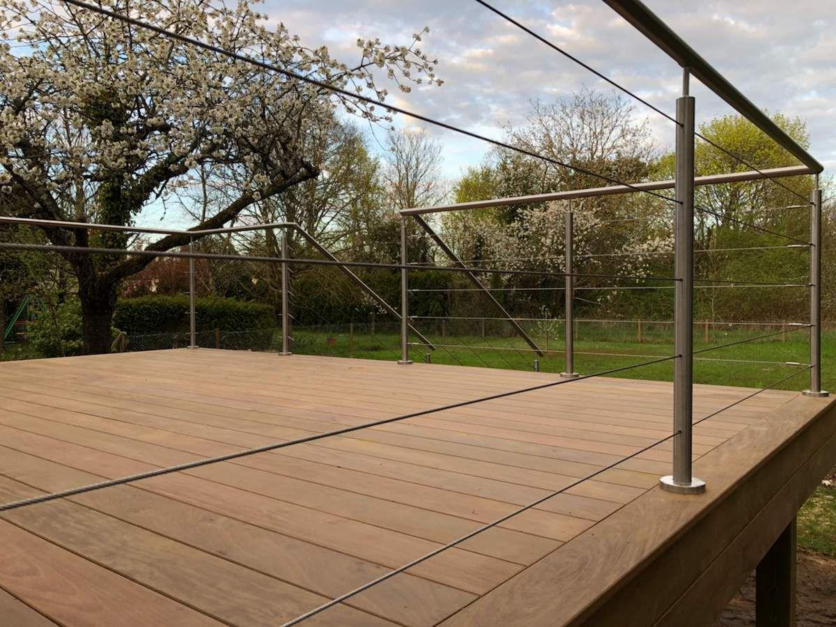 terrasse bois sur pilotis olivet 45 orl ans france terrasse bois. Black Bedroom Furniture Sets. Home Design Ideas