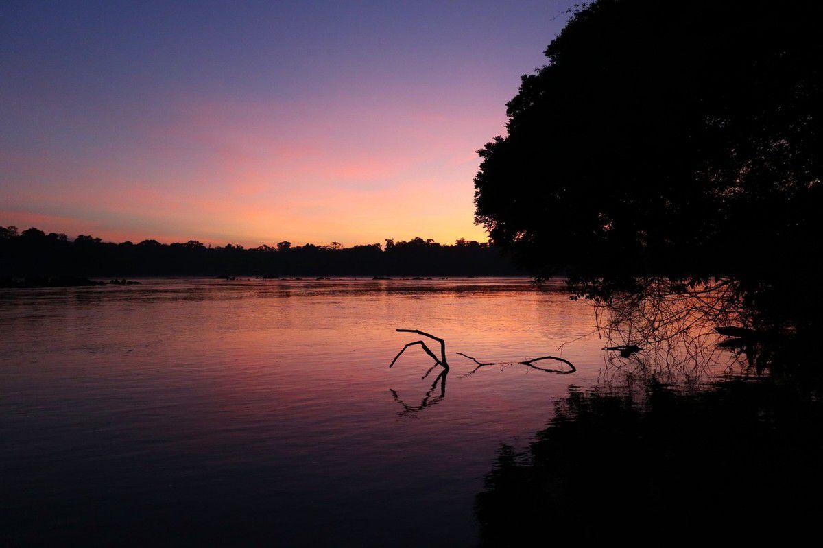 L'eau des soirs en paix