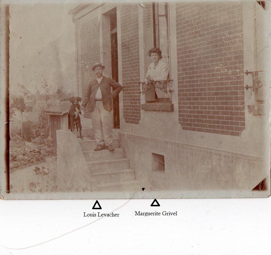 Louis et Marguerite, photo non-datée (archives privées Levacher).