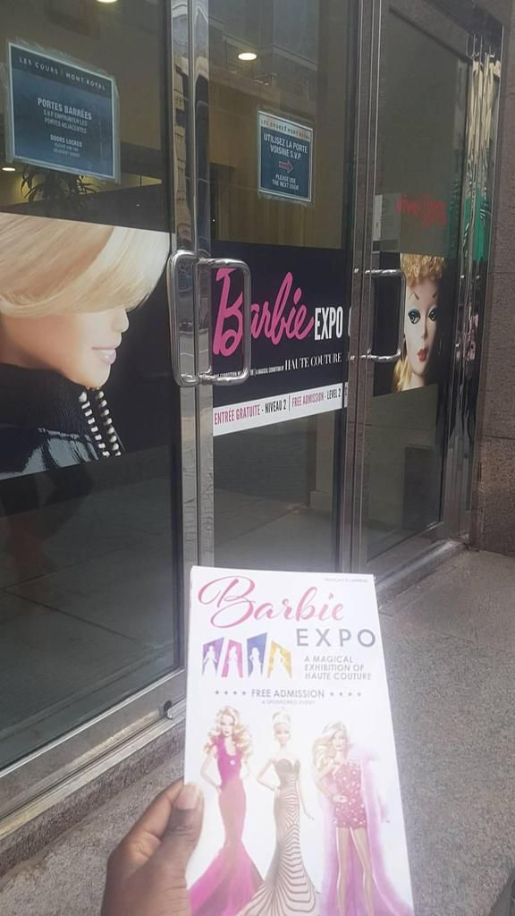 I am a Barbie girl in the Barbie world..