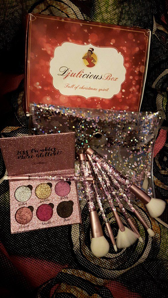Collection house of glittery