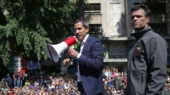 Guaido et Lopez, les leaders de l'Opération Liberté