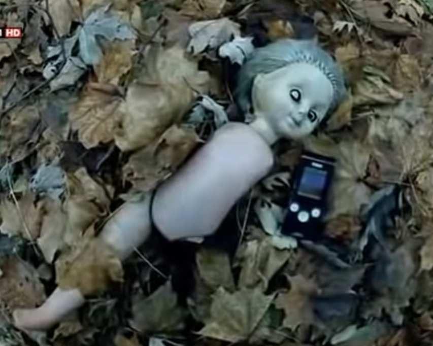 Poupée radioactive. Tchernobyl. Allégorie atomique