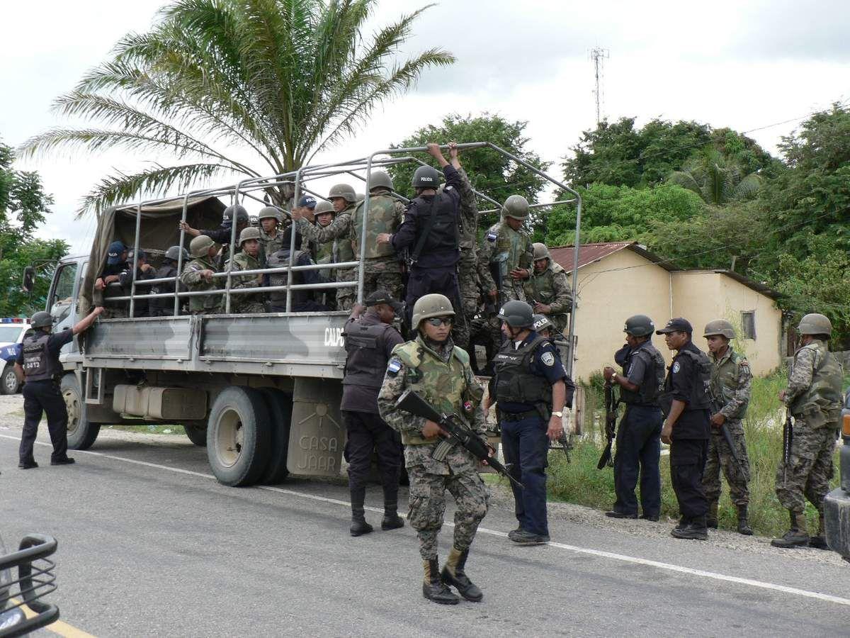 Honduras, militarisation du Bas Aguan, terre de luttes populaires, natives et paysannes