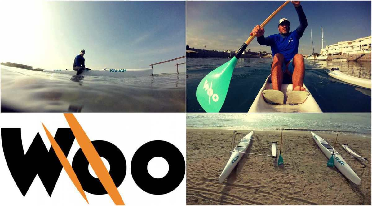 TEST DES PIROGUES WOO OUTRIGGER