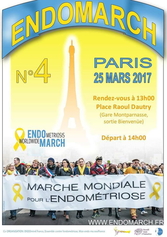 La marche contre l'endométriose