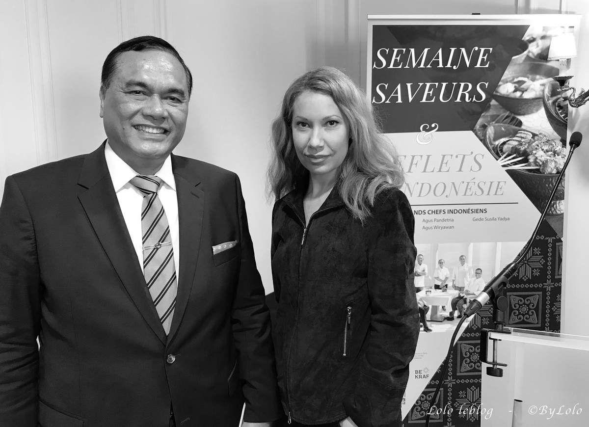 Son Excellence Monsieur Hotmangaradja Pandjaitan, Ambassadeur de la République d'Indonésie en France - Copyright © By Lolo. All Rights Reserved.
