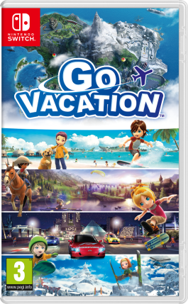 GO VACATION sur NINTENDO SWITCH