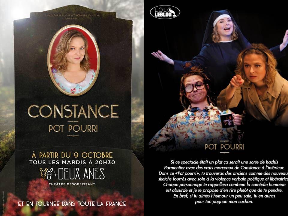 """""""Pot Pourri"""" - Constance"""