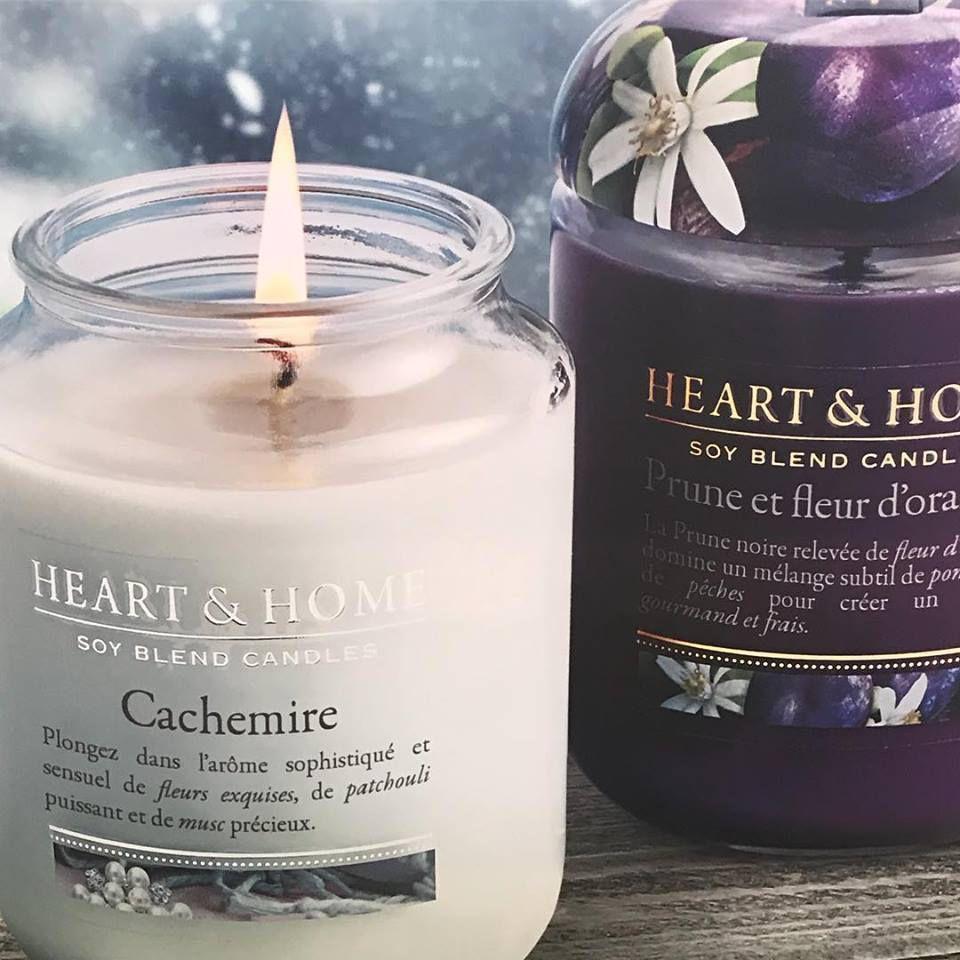 Les bougies Heart&Home