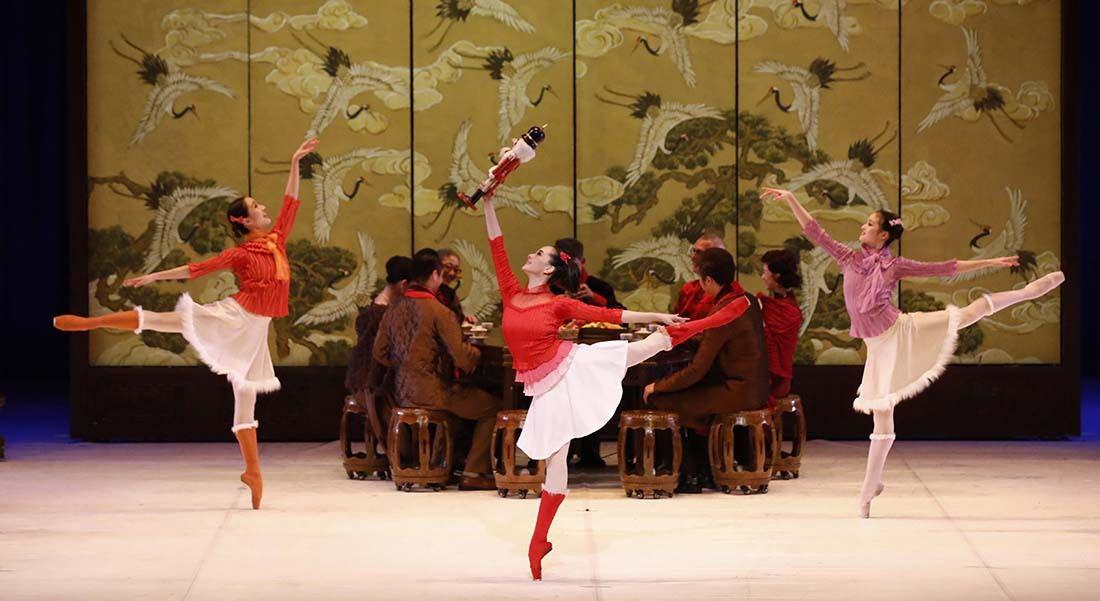 « Casse-Noisette » par le Ballet National de Chine à la Seine Musicale