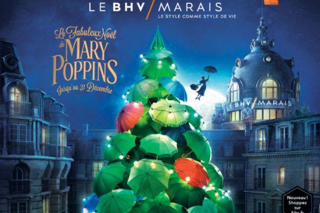 Le fabuleux Noël de Mary Poppins au BHV Marais