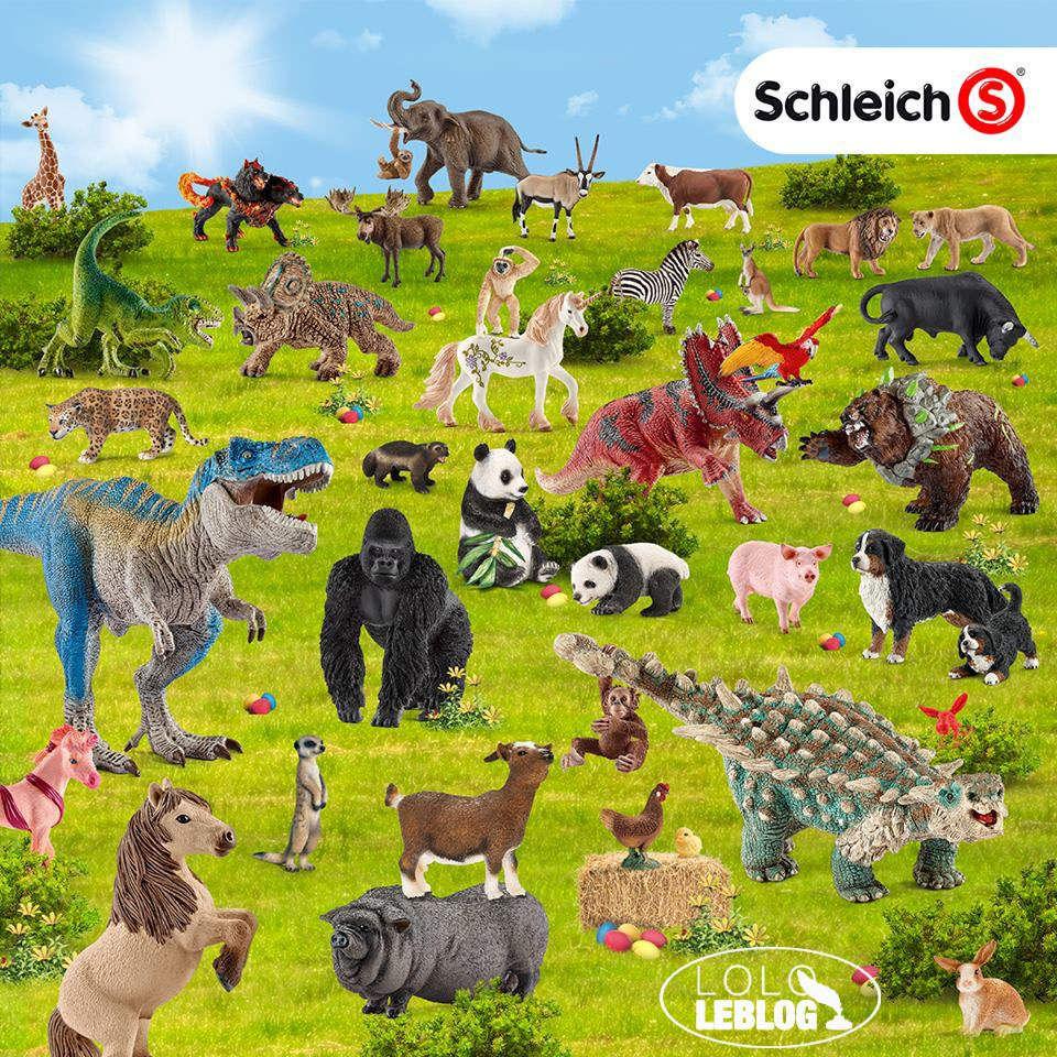 Les figurines Schleich