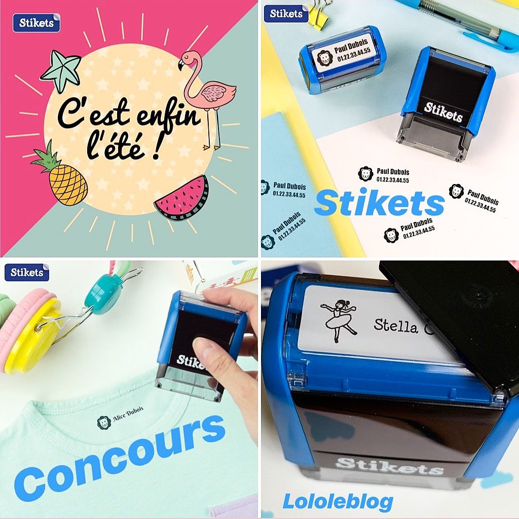 Mon Tampon Stikets ( + concours )
