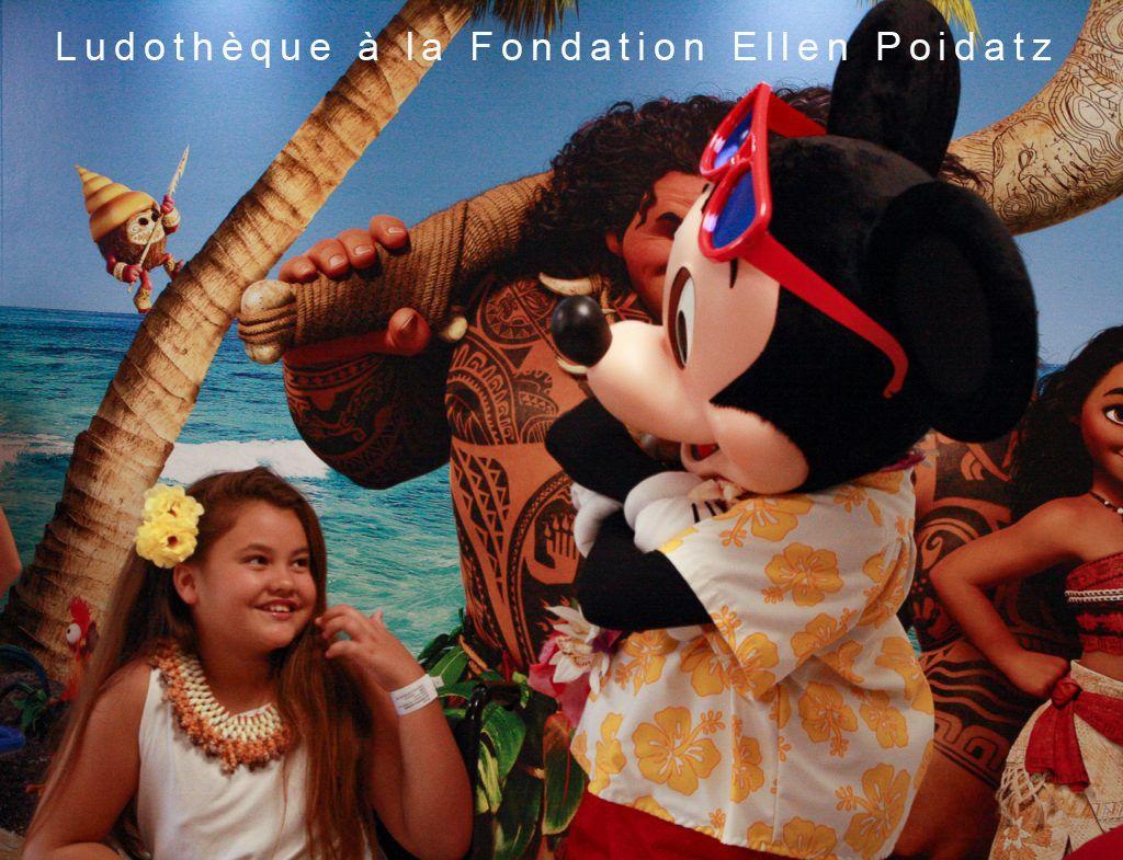 Ludothèque à la Fondation Ellen Poidatz en collaboration avec Disney