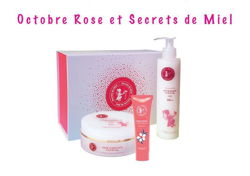 Octobre Rose et Secrets de Miel