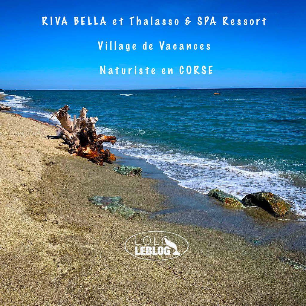 RIVA BELLA le village vacances Naturiste en Corse
