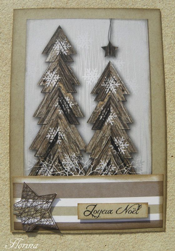 """Passion cartes créatives """" challenge sapin """""""