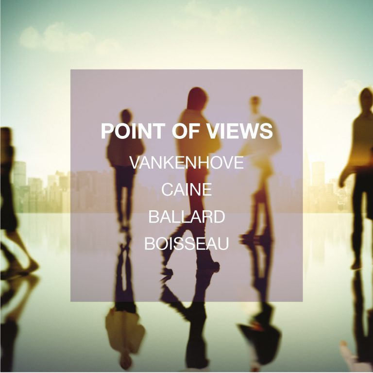 POINT OF VIEWS   VANKENHOVE/ CAINE / BALLARD/ BOISSEAU