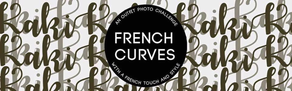 Kaki Rock Chic - French Curves Challenge