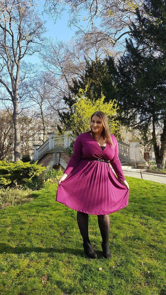 Une robe acidulée - French Curves Challenge