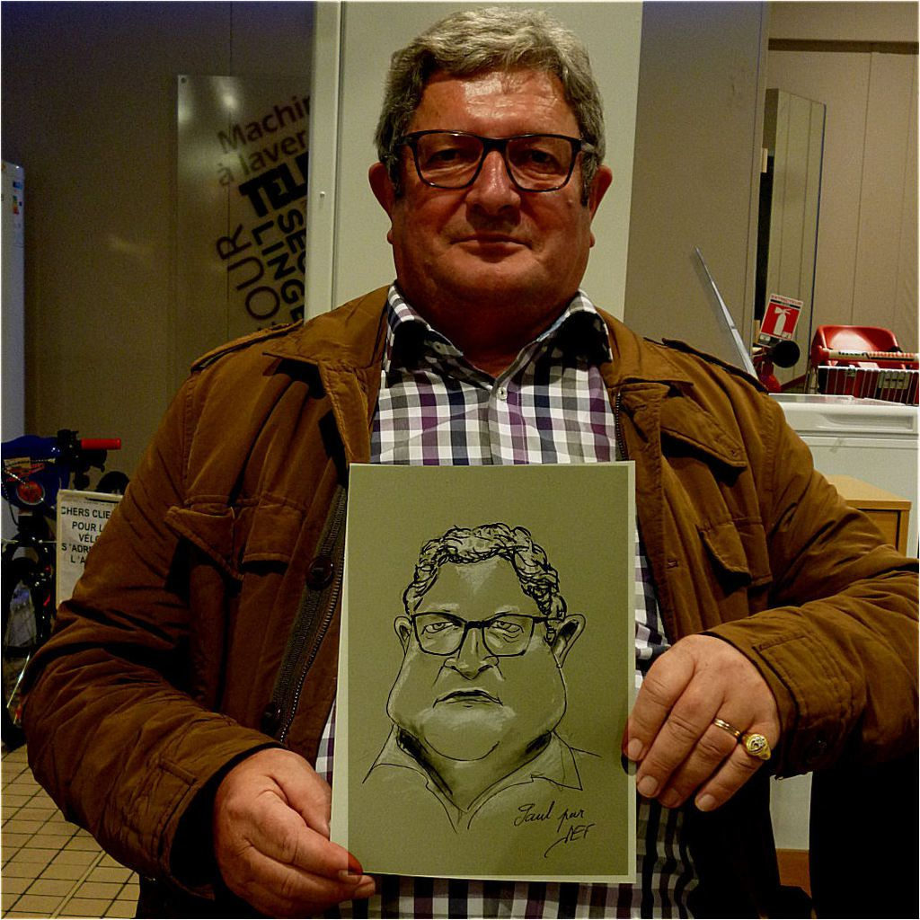 Paul caricature de JEF