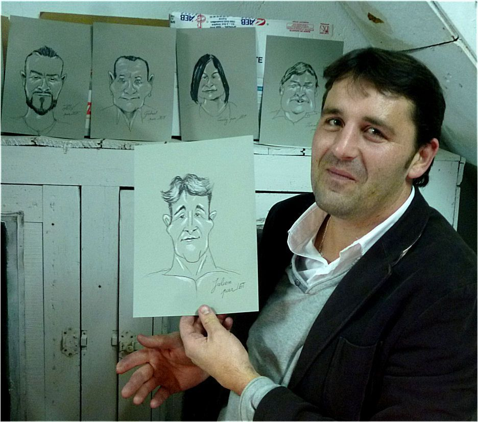 Julien caricature de JEF