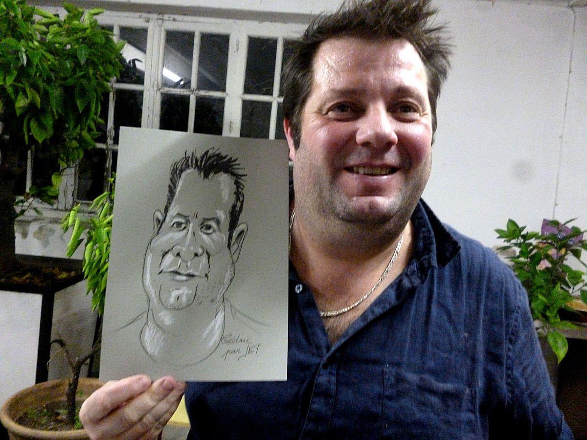 Cédric caricature de JEF