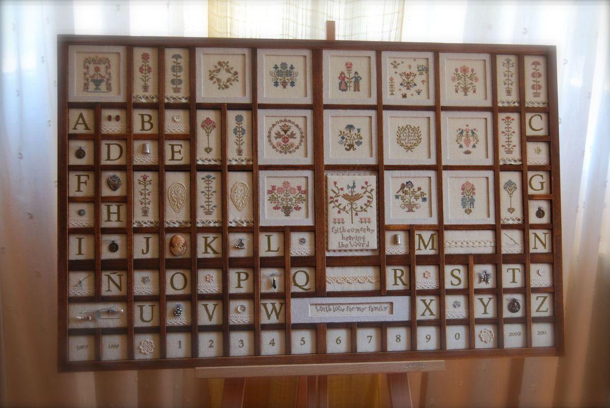 Precioso ejemplo de cajón impecablemente realizado por www.costureraloca.com
