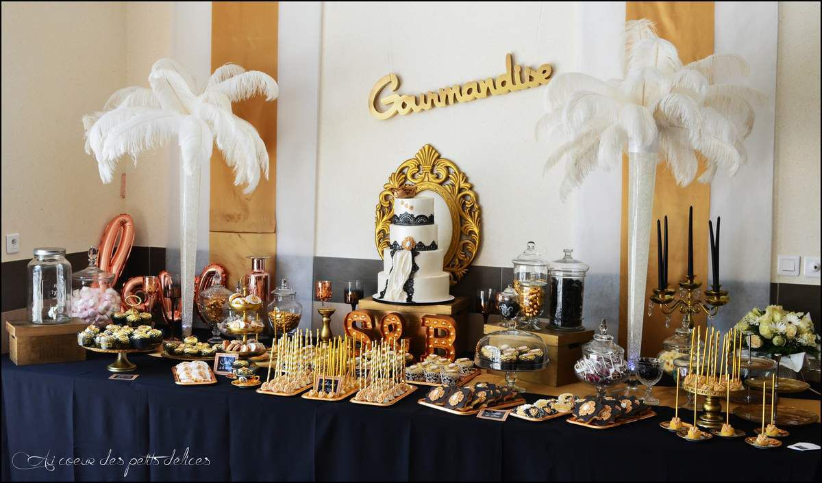 Candy Bar Glamour chic