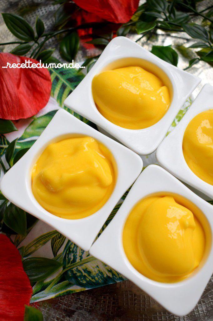 Sorbet mangue - Recette magimix cook Expert