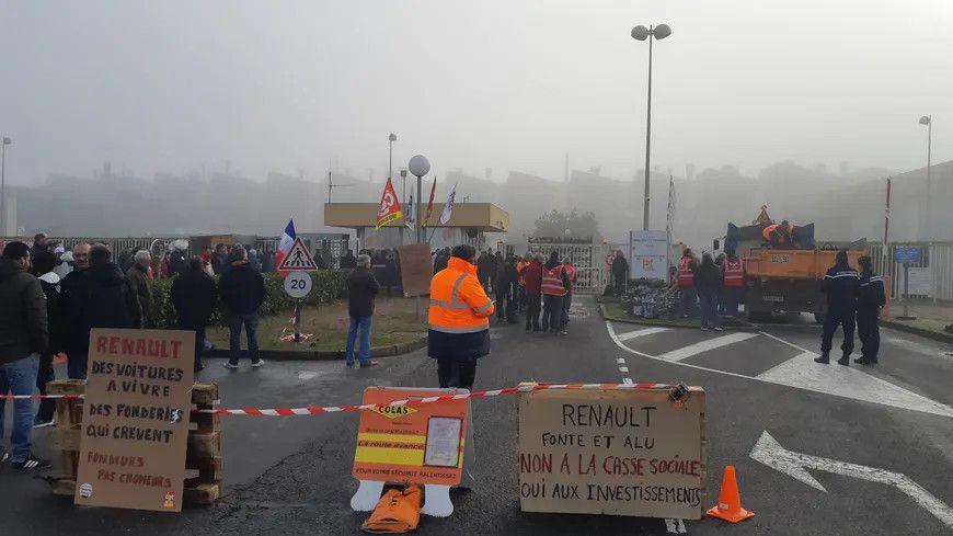 Les fonderies du Poitou en grève